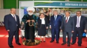 Akşehir Belediyesinin standına yoğun ilgi