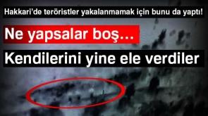 Şemsiyeli teröristler İHA'ya böyle yakalandı