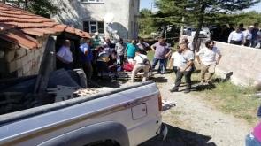 Konyada feci kaza 1 ölü 2 yaralı