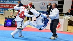 Konya'da Büyükler Türkiye Tekvando Şampiyonası sona erdi