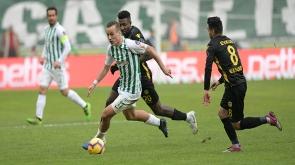 Atiker Konyaspor  E.Y. Malatyaspor ile 1-1 berabere kaldı