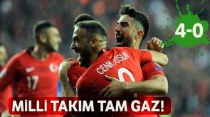 Türkiye tam gaz! A Milli'ler ikinci maçtan da galip ayrıldı