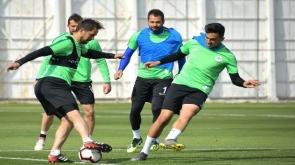 Atiker Konyaspor, M. Başakşehir hazırlıklarını sürdürdü