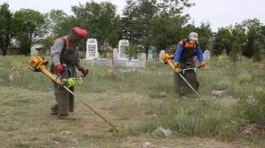 Konya'da bin 614 mezarlık bayram ziyaretlerine hazırlanıyor
