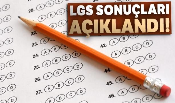 2019 LGS sınav sonuçları  açıklandı!
