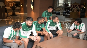 Engelli taraftarlardan Konyaspor'a ziyaret