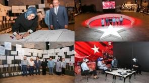 Leyla Şahin Usta'dan Tantavi Kültür Merkezi'ne ziyaret