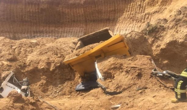 Konya'nın Ilgın ilçesinde Maden sahasında göçük: 2 yaralı