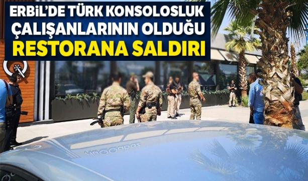Erbil'de Türk konsolosluk çalışanlarının olduğu restorana saldırı - Tıkla İzle