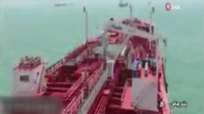 İran'ın alıkoyduğu petrol tankerinden yeni görüntüler