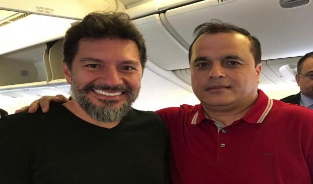 Hakan Atilla Türkiye'de! Uçağı İstanbul'a iniş yaptı