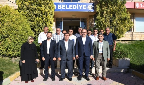 Başkan Altay Cihanbeyli ve Altınekin'de