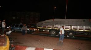 Konya'da Tıra arkadan çarpan sürücü otomobili bırakıp kaçtı