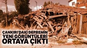 Çerkeş'teki depremin yeni görüntüleri ortaya çıktı - TIKLA İZLE-