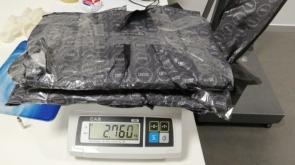 Piyasa değeri yaklaşık 4 milyon lira olan 13 kilo kokain ele geçirildi