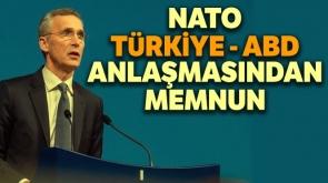 """Stoltenberg: """"ABD ve Türkiye'nin ileriye dönük konularda anlaşma sağladığına sevindim"""""""