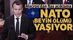 Macron: 'NATO beyin ölümü yaşıyor'