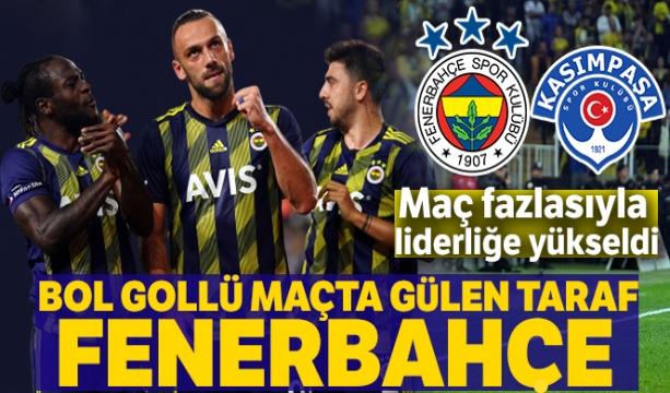 Fenerbahçe: 3-2 Kasımpaşa ( KARŞILAŞMANIN GENİŞ ÖZETİ VE GOLLERİ İÇİN TIKLAYINIZ)