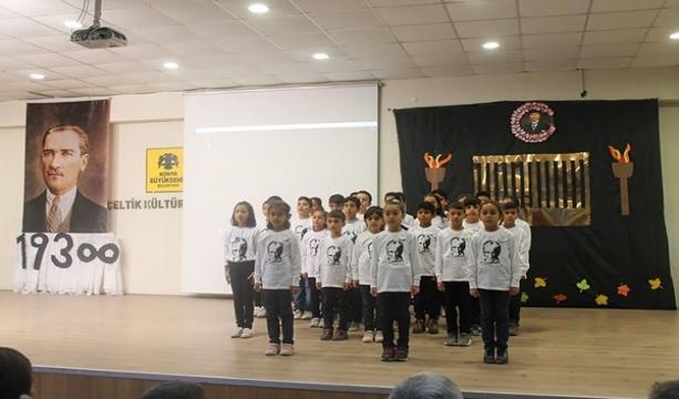 Çeltik'te Atatürk'ü anma etkinlikleri