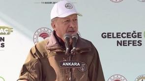 Cumhurbaşkanı Erdoğan: 'Hedefimiz zümrüt yeşili bir Türkiye fotoğrafı ortaya çıkarmaktır'