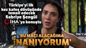 Sabriye Şengül: 'Bu maçı alacağıma inanıyorum'  - Tıkla İzle -