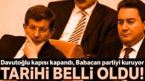 Ali Babacan gelecek ay partiyi kuruyor
