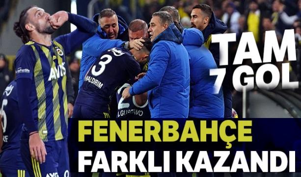 Fenerbahçe farklı kazandı!
