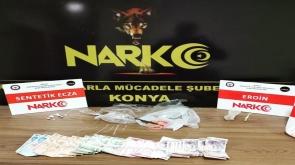 Konya'da uyuşturucu operasyonu