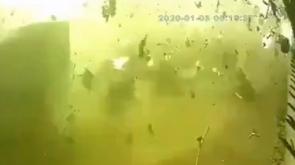 İran'da düşen uçağın patlama anının görüntüleri ortaya çıktı  - Tıkla İzle-