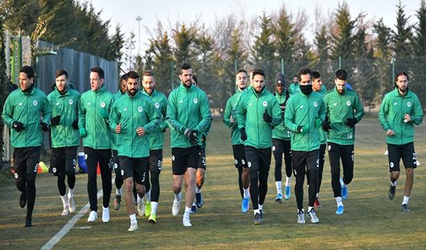 İttifak Holding Konyaspor'  MKE Ankaragücü maçı hazırlıkları başladı