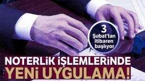 Bakan Gül: 'Noterlik İşlemlerinde Güvenli Ödeme Sistemi'ne 3 Şubat 2020'de geçilecek'