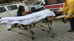 Çatıdan düşüp hastanelik oldu
