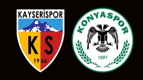 Kayserispor-Konyaspor ile 2-2 berabere kaldı