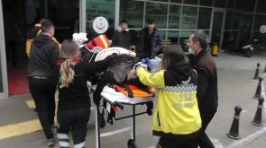 Konya'da otomobil devrildi: 1 ölü, 1 yaralı