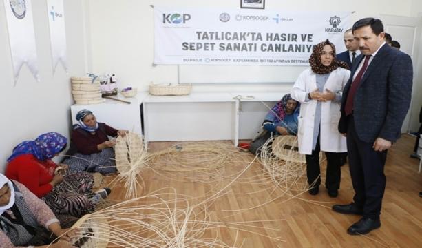 Konya'da Suça karışmasınlar diye meslek öğreniyorlar
