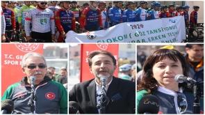 Konya'da Glokoma dikkat çekmek için pedal çevirdiler
