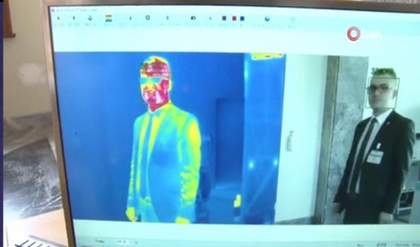 TBMM'de korona virüsüne karşı termal kameralı önlem