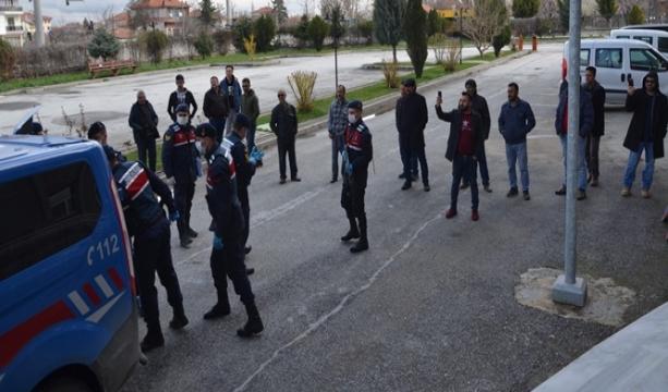 Konya'da Hayvan hırsızları adliyeye sevk edildi
