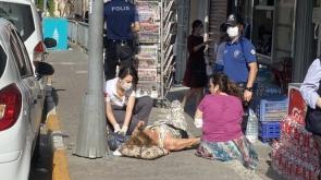 Kadına silahlı saldırı dehşeti