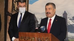 """Sağlık Bakanı Koca: """"İstanbul ve Bursa başta olmak üzere ülke genelinde bir artış eğilimi görüyoruz"""""""