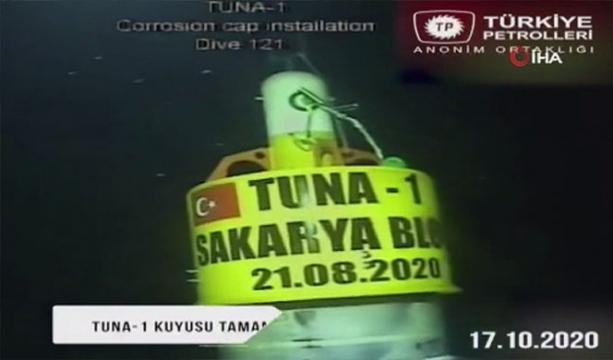 TP, Tuna-1 kuyusunun sondaj görüntülerini paylaştı -Tıkla izle