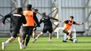 Konyaspor, Altınordu maçı hazırlıklarına devam etti