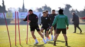 Konyaspor, Rizespor maçı hazırlıklarına başladı