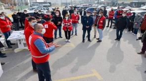 Meram Belediyesinden Kızılay'a destek