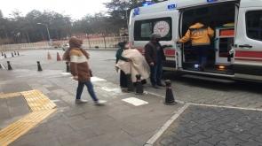 Konya'nın Kulu ilçesinde Yemek tenceresinin üzerine düşen çocuk yandı