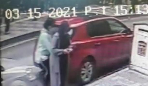 Kadın yankesici, kadının cebinden 2 saniyede 3 bin 250 lira aldı