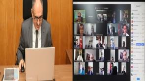 Vali Özkan, İlçe Kaymakamları İle Tam Kapanma Dönemine Yönelik Değerlendirme Toplantısı Gerçekleştirdi