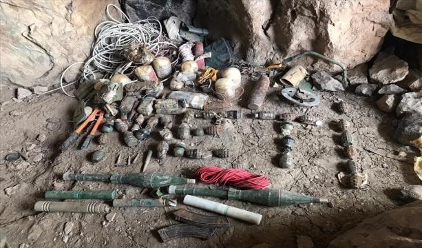 Pençe-Yıldırım Operasyonunda Girişi EYP ile Tuzaklanmış Mağara Ele Geçirildi