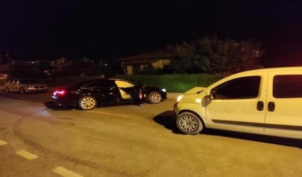 Konya'nın Ereğli ilçesinde  Otomobil ile hafif ticari araç çarpıştı: 2 yaralı