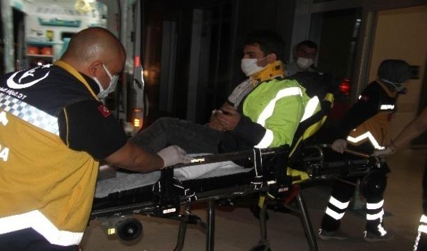 Konya'da iki ayrı trafik kazası 2 yaralı